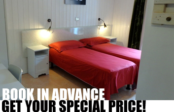 Book in advance and get your personal special price