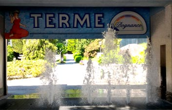 the spa of Bognanco Terme
