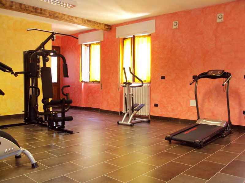 Fitness and gym at hotel edelweiss bognanco terme