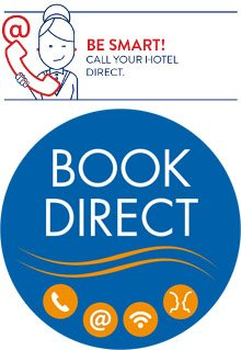 Be smart, book direct!