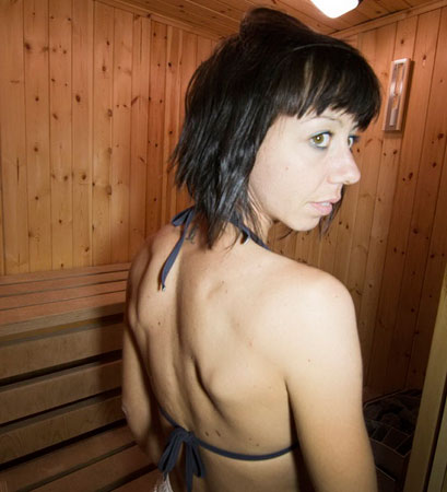 Relaxing Sauna at 'hotel Edelweiss - Bognanco Terme